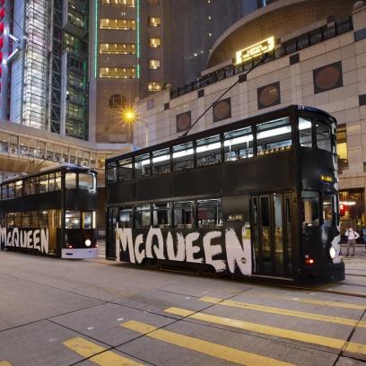 McQueen Graffiti Tramcar Parade Campaign at The Galleria