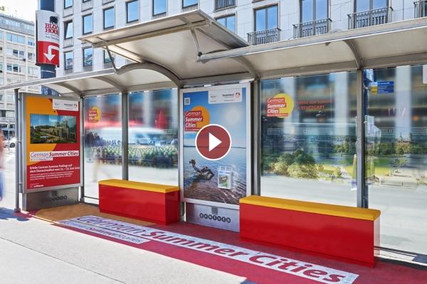 City Light Wartehalle German Summer Cities