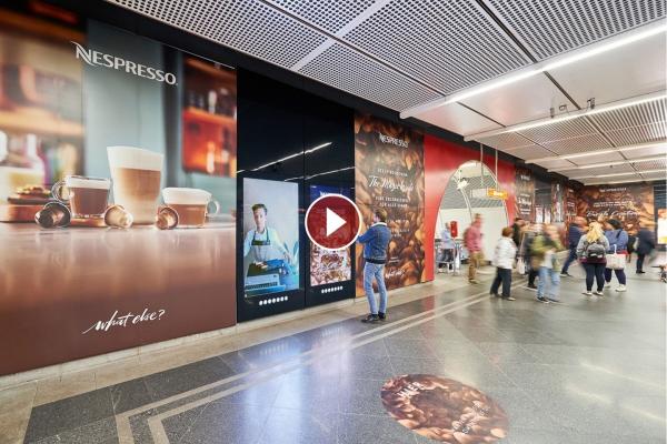Brand Area Live Interaktion Nespresso