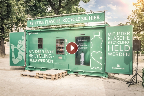 Roemerquelle Recycling Aktion