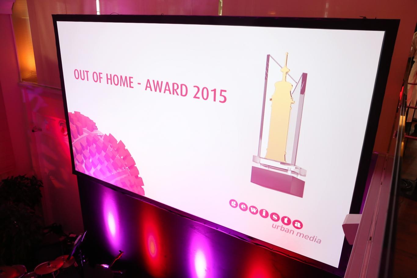 OOH Award 2015
