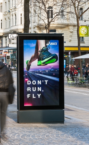 Digital Media Outdoor Asics