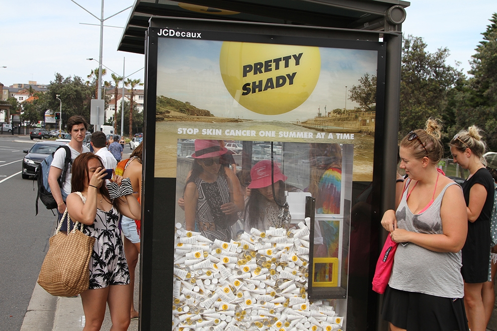 Cancer Institute Nsw In The Sunlight With New Jcdecaux Outdoor Campaign For Pretty Shady Jcdecaux Australia