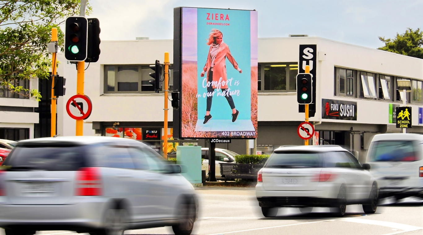 JCDecaux Digital Billboards