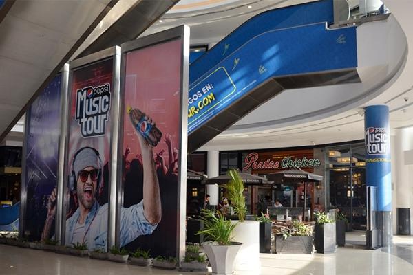 pepsi music publicidad jcdecaux