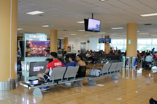 samsung cargadores aeropuerto