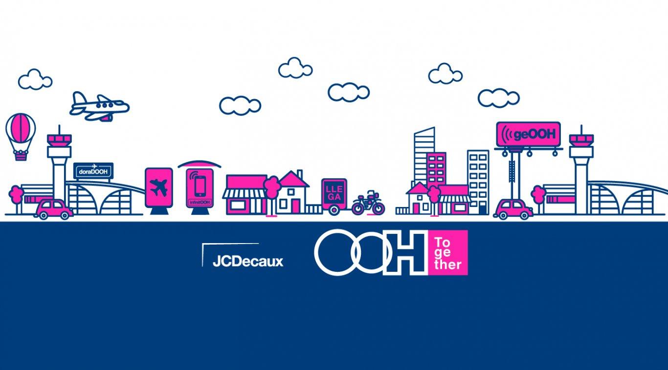 JCDecaux reúne a los equipos creativos en los OOH Together