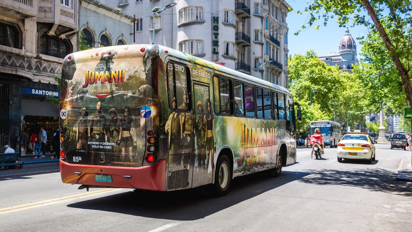 Montevideo - Enero 2018 - Jumanji - Bus Total
