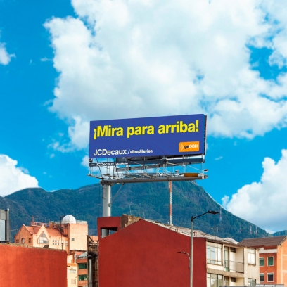 vallas jcdecaux / ultradifusión en Bogotá
