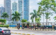 Paradero de Bus en Panamá