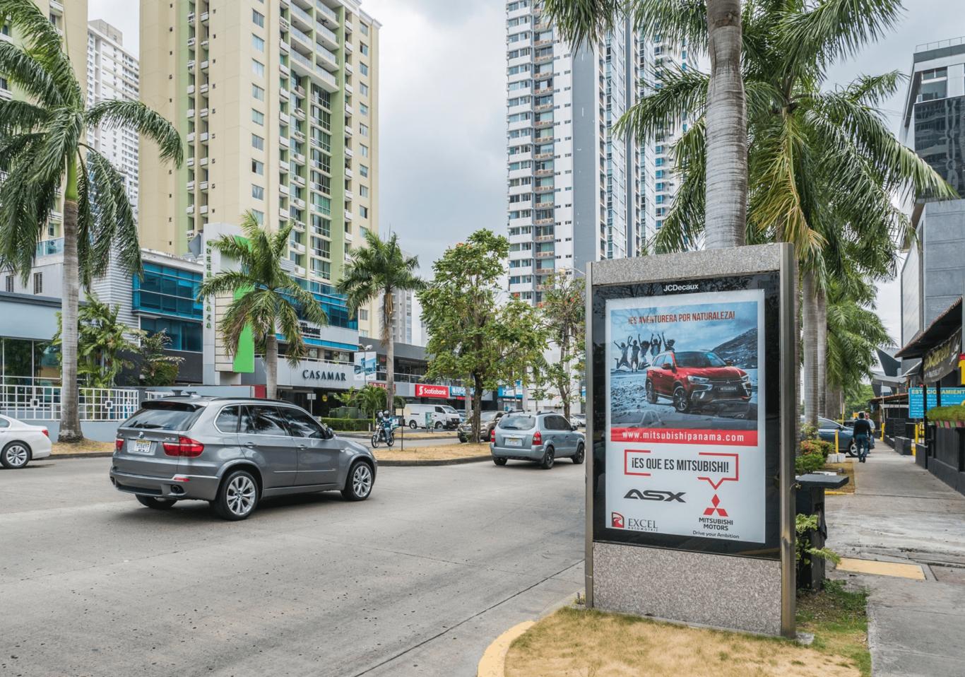 Mupis publicitarios panamá - Mobiliario Urbano - JCDecaux Top Media